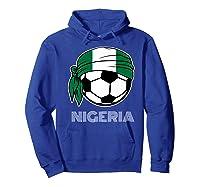 Nigeria Soccer 2019 Super Eagles Fans Kit Football Shirts Hoodie Royal Blue