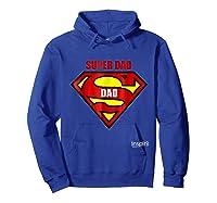 Super Dad By Inspir8 Movet Shirts Hoodie Royal Blue
