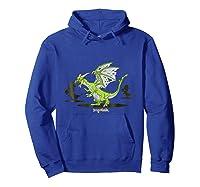 Dragonvale Zombie Dragon Shirts Hoodie Royal Blue