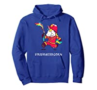 Firefightercorn Funny Unicorn As Firefighter Shirts Hoodie Royal Blue