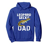 Funny Leopard Gecko Graphic Lizard Lover Reptile Dad Gift T-shirt Hoodie Royal Blue
