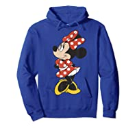 Mickey And Friends Minnie Mouse Traditional Portrait Shirts Hoodie Royal Blue