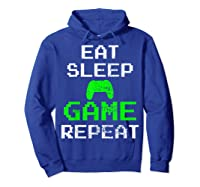 Gaming Console Vintage Shirts Hoodie Royal Blue