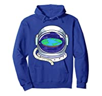 Flat Earth Map Design For A Flat Earth Society Shirts Hoodie Royal Blue
