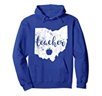 Red For Ed T-shirt Ohio Tea Public Education Hoodie Royal Blue
