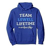 S Team Lowell Groom Squad Custom Bachelor Party Wedding T-shirt Hoodie Royal Blue