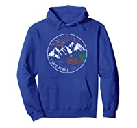 I Hate People Funny Mountain Lover Novelty Shirts Hoodie Royal Blue