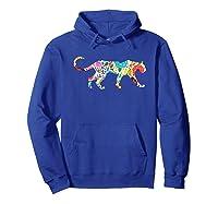 Cute Puma S I Love Cougar Print Shirts Hoodie Royal Blue