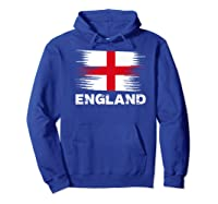 England English Flag Sports Soccer Football Gift Shirts Hoodie Royal Blue