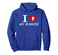 Running Run Runner Track Marathon Funny Cheer Mom Shirts Hoodie Royal Blue