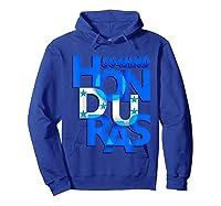 Honduras 504 Hnd Catracho T-shirt Hoodie Royal Blue