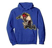 Kane Clothesline Graphic Shirts Hoodie Royal Blue
