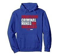 Criminal Minds Obsessive Criminal Minds Disorder Shirts Hoodie Royal Blue