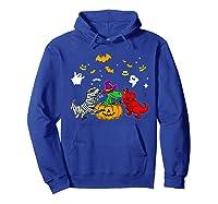 Funny Saurus Halloween Costumes Saurus Lovers Shirts Hoodie Royal Blue