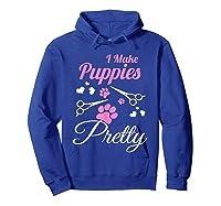 Pet Grooming For Cute Groomer Gift Shirts Hoodie Royal Blue