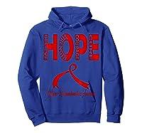 Wegener\\\'s Granulomatosis Awareness T-shirt Hoodie Royal Blue
