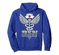 Gift For Bachelor Nurse Nurses Nursing Stay Strong T-shirt Hoodie Royal Blue