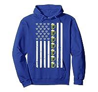 Funny Oktoberfes American Flag Beer Pretzel Shirts Hoodie Royal Blue