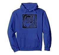Disney Shocked Pluto T-shirt Hoodie Royal Blue
