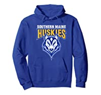 University Of Southern Maine Huskies Ppusmn02 Shirts Hoodie Royal Blue