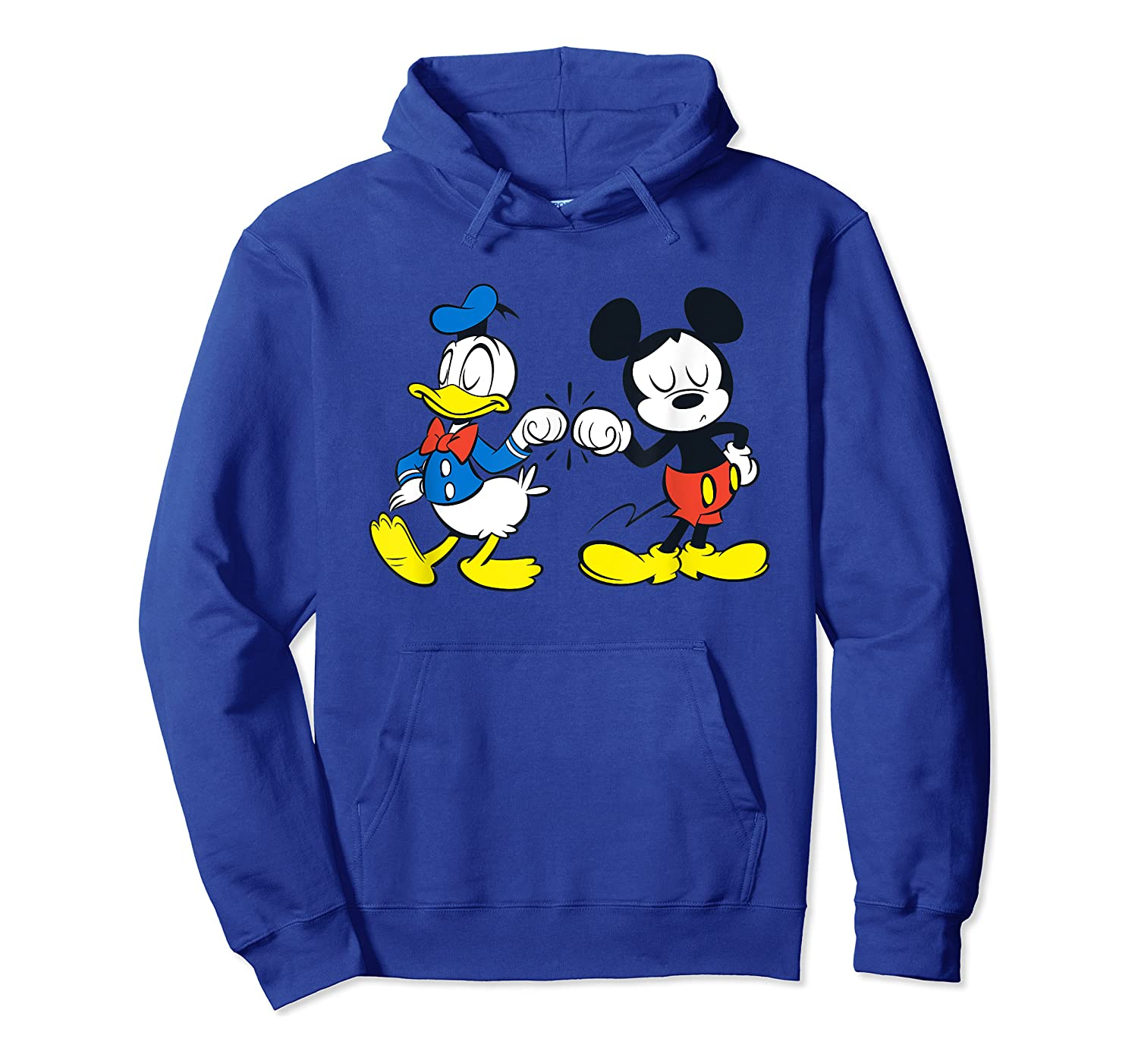 Disney Mickey Mouse And Donald Duck Best Friends T-shirt Unisex Pullover Hoodie