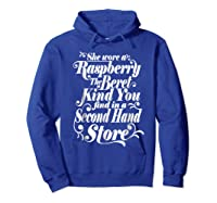 She Wore A Raspberry Beret T Shirt Hoodie Royal Blue