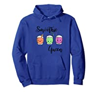 Smoothie Juice Smoothie Queen Shirts Hoodie Royal Blue