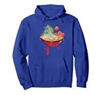Ra Landscape Premium T-shirt Hoodie Royal Blue
