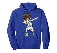Dabbing Soccer Argentina - Argentinian Football Premium T-shirt Hoodie Royal Blue