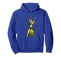 Megan Green Belly Dancer Art Bellydance Premium T-shirt Hoodie Royal Blue