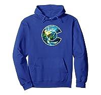 Colorado Mountain C Co Flag Graphic Design By Mcma Premium T-shirt Hoodie Royal Blue