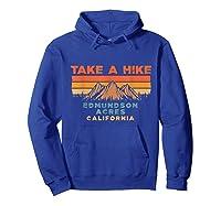 California Vintage Take A Hike Edmundson Acres Moutain T-shirt Hoodie Royal Blue