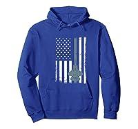 United States F35 Fighter Jet American Flag Veteran Shirts Hoodie Royal Blue