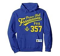 Masonic Prince Hall Pha 357 Sports Style Shirts Hoodie Royal Blue