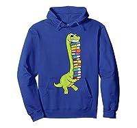 Teasaurus Dinosaur Tea Dino Reading Book Shirts Hoodie Royal Blue
