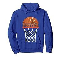 Basketball Foster Custom Name Gift, Shirts Hoodie Royal Blue