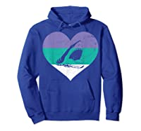 Funny Family Matching Gifts Great Shark T-shirt Hoodie Royal Blue