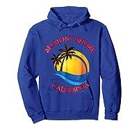 Belmont Shore Beach Surf California Gift Shirts Hoodie Royal Blue