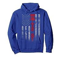 Disc Golf Basket Flag Design Gift For Disc Golfers Shirts Hoodie Royal Blue