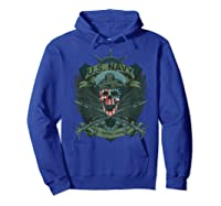 S Us Navy - Honor, Courage, Committ T-shirt For Patriots Hoodie Royal Blue