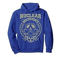 Nuclear Fallout - T-shirt Hoodie Royal Blue