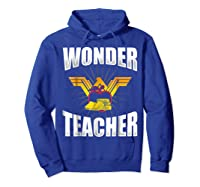 Wonder Tea Funny Tea Life Shirts Hoodie Royal Blue