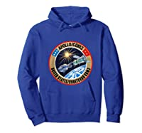 Apollo-soyuz Rendezvous Patch T-shirt Nasa History Hoodie Royal Blue