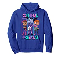 Vampirina Ghoul Girls Trio Shirts Hoodie Royal Blue