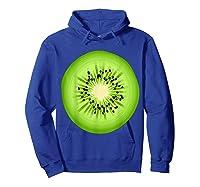 Kiwi Costume Fruit Halloween Costume Shirts Hoodie Royal Blue