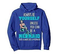 Cute Mermaid Gifts N Girls Mermaids Lover Gift Daughter Shirts Hoodie Royal Blue