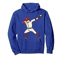 Funny Dabbing Baseball Dab Hip Hop Dance Girls Shirts Hoodie Royal Blue