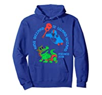 King Gizzard And The Lizard Wizard Shirts Hoodie Royal Blue