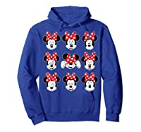 Disney Minnie Rock The Dots Oh My Minnie T-shirt Hoodie Royal Blue