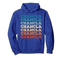 Funny Mexican Mom Gift Chancla T-shirt Hoodie Royal Blue